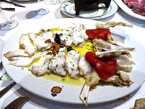delicias rape menu degustacion casa juan